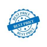 Migliore illustrazione del bollo di prezzi Fotografie Stock