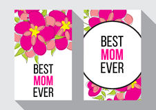 Migliore mamma mai Fotografia Stock
