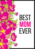 Migliore mamma mai Immagini Stock