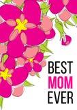 Migliore mamma mai Fotografie Stock