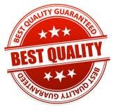 Migliore marchio di qualità Fotografie Stock