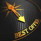Migliore offerta. Cenni storici di affari. Immagini Stock