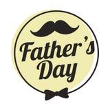 Migliore papà, giorno di padri felice Immagini Stock Libere da Diritti