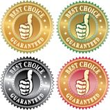 Migliore pollice choice Immagini Stock Libere da Diritti
