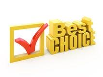 Migliore premio choice Fotografie Stock