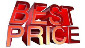 Migliore prezzo Immagine Stock Libera da Diritti