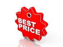 Migliore prezzo da pagare Immagine Stock