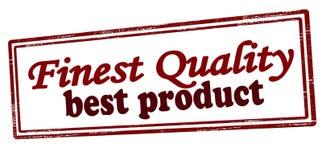 Migliore prodotto di qualità più fine Immagine Stock Libera da Diritti