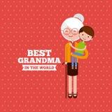 Migliore progettazione della nonna Fotografia Stock Libera da Diritti