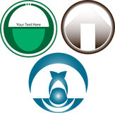 Migliore raccolta di logo Fotografie Stock