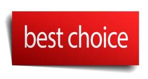 Migliore segno choice Illustrazione Vettoriale