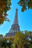 Migliore torre Eiffel di Parigi Francia fotografia stock