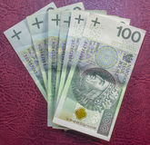 Migliore valuta polacca Fotografia Stock Libera da Diritti