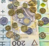 Migliore valuta polacca Immagini Stock
