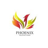 Migliore vettore di logo di Phoenix Fotografia Stock Libera da Diritti