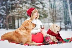 Migliori amici Fotografie Stock