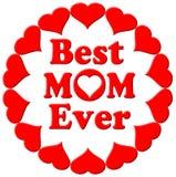 Migliori cuori della mamma mai Immagini Stock