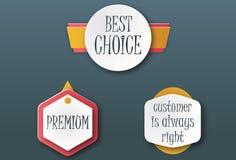 Migliori icone commerciali Immagini Stock Libere da Diritti
