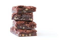 Migliori-mai brownie decadenti del cioccolato Fotografia Stock
