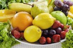 Migliori maschere 02 delle verdure e della frutta Immagini Stock Libere da Diritti