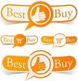 Migliori modifiche dell'arancio del buy. royalty illustrazione gratis