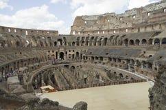 Migliori viste del forum del panteon del Colosseo di Roma Immagini Stock Libere da Diritti