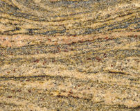 Migmatite rock slab texture Royalty Free Stock Image