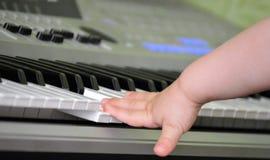 Mignoli sulla tastiera Fotografie Stock