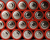 Mignon Batteries Stock Photos