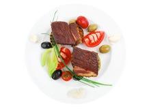 Mignon de filet de boeuf grillé Photos libres de droits