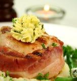 Mignon de filete del pollo Fotografía de archivo