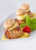 Mignon del pollo Foto de archivo libre de regalías