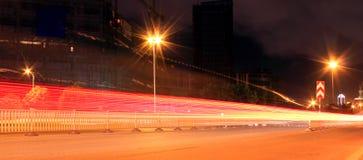 Migocząca miasto sceneria Zdjęcia Stock