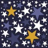 Migotania migotania Mały Gwiazdowy tło Obrazy Stock