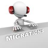 migracje Zdjęcia Royalty Free