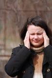 Migraine Photographie stock libre de droits