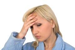 Migraine. Stock Images