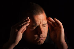 Migraine royalty free stock image