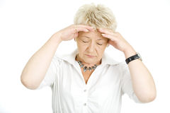 Migraine Royalty Free Stock Images