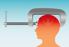 Migraine Image libre de droits