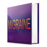 Migraine concept. Royalty Free Stock Images