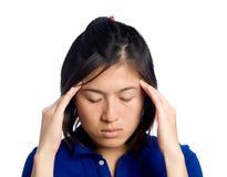 Migraine gil royalty-vrije stock afbeelding