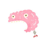 Migraine headache retro cartoon Stock Photos