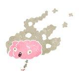 Migraine headache retro cartoon Royalty Free Stock Photos