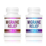 Migraine medication. Stock Image