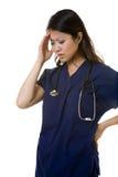 Migraine pain Stock Photos