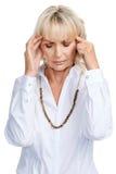 Migraine pains Royalty Free Stock Photo