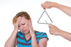 Migraine/Tinnitus Royalty Free Stock Photo