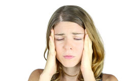 Migraine Royalty Free Stock Photo