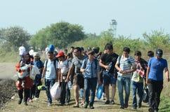 migranter Royaltyfri Foto